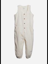 Wander & Wonder printed jumpsuit - ecru ditsy
