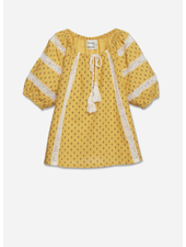 Wander & Wonder prairie top - yellow ditsy