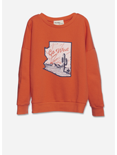 Wander & Wonder summer sweatshirt - fire
