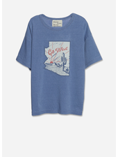 Wander & Wonder go west tee - denim