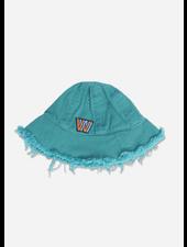 Wander & Wonder bucket hat - peacock