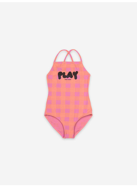 Bobo Choses play vichy swimsuit