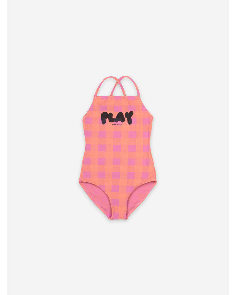 Bobo Choses play vichy swimsuit
