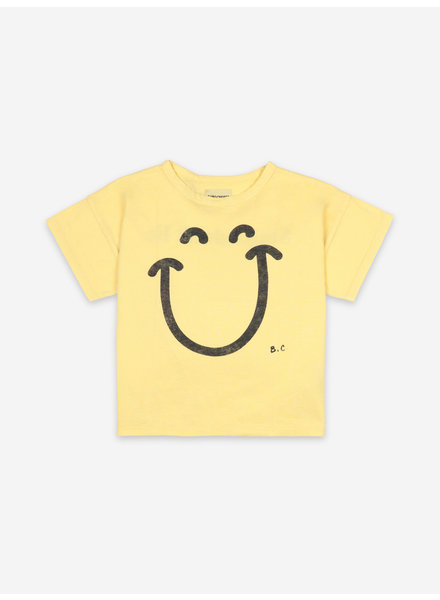 Bobo Choses big smile short sleeve tshirt