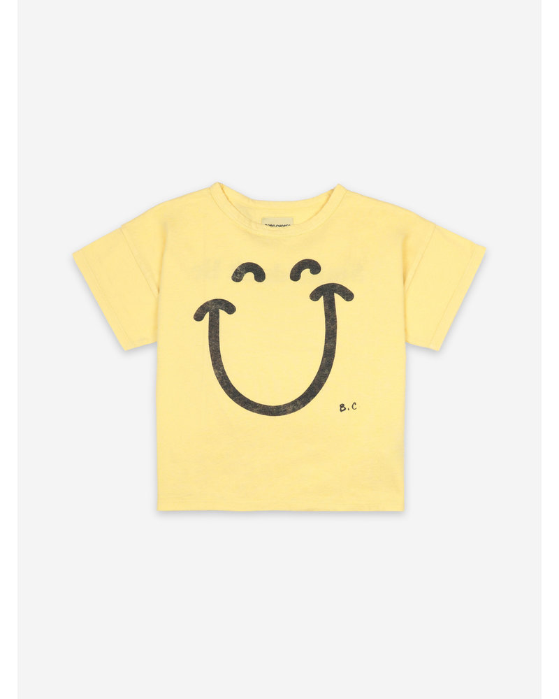Bobo Choses big smile short sleeve tshirt
