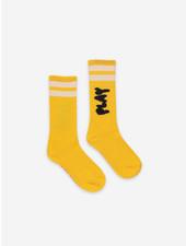 Bobo Choses play yellow long socks