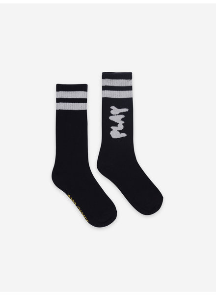 Bobo Choses play black long socks