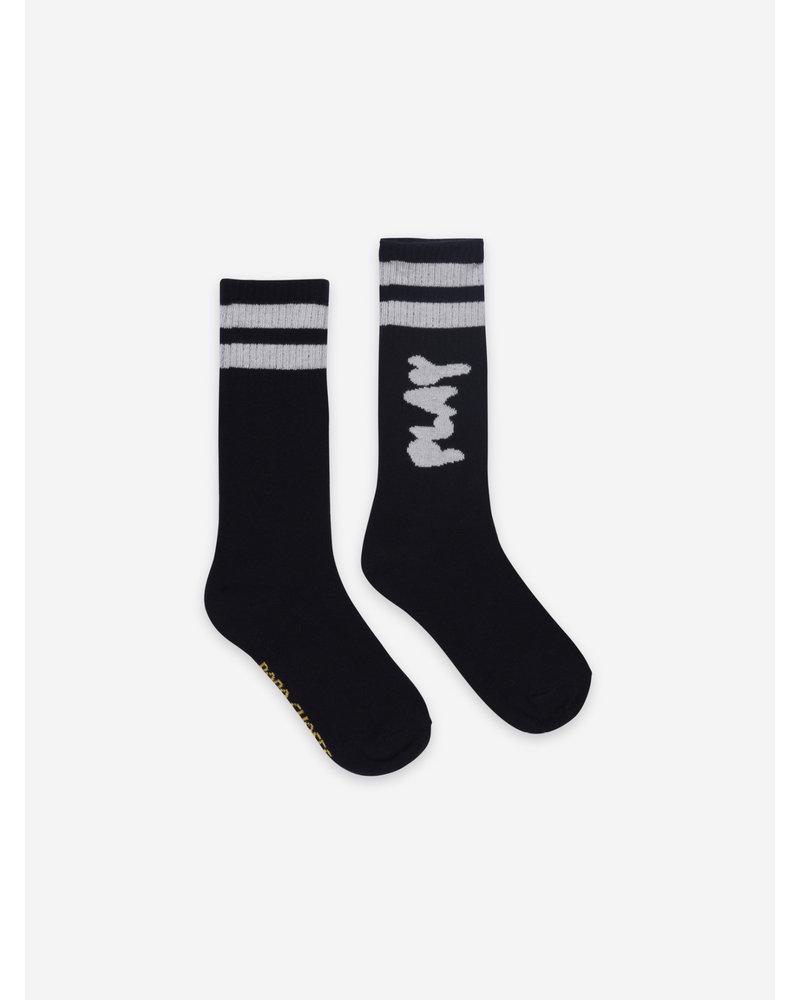 Bobo Choses play black long socks