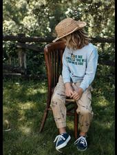 Wander & Wonder printed cargo - khaki