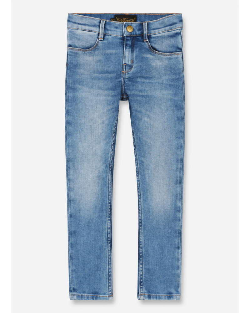Finger in the nose tama skinny fit jeans - bleached blue