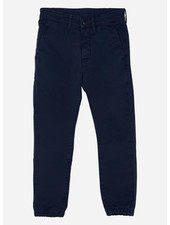 Finger in the nose skater elasticed bottom chino fit pants - navy