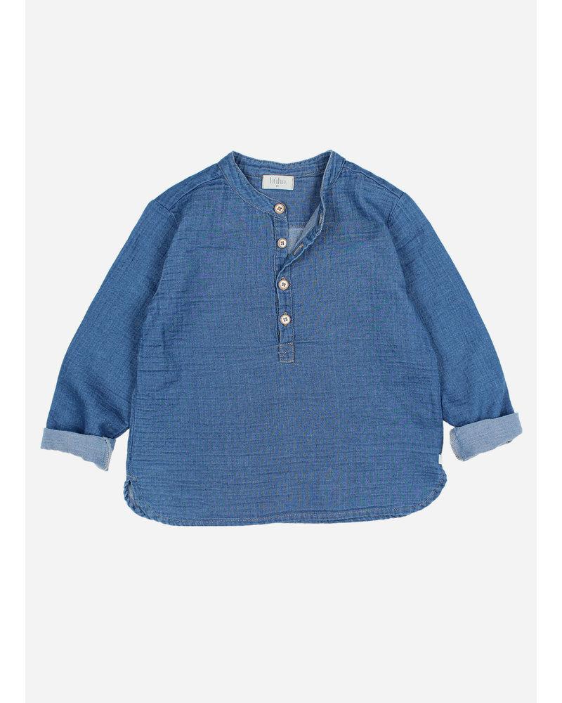 Buho paul denim shirt - indigo