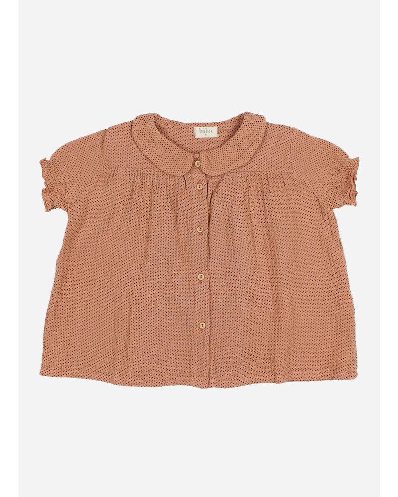 Buho lili blouse - dark siena