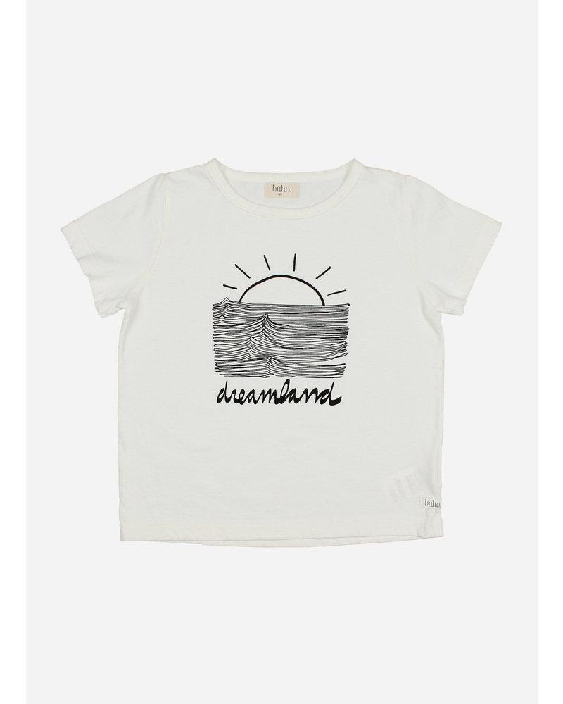 Buho leo dreamland tshirt - white