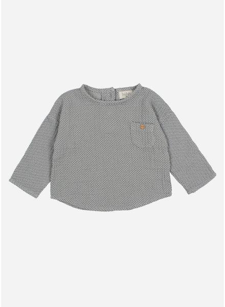 Buho teo dots shirt - cloud