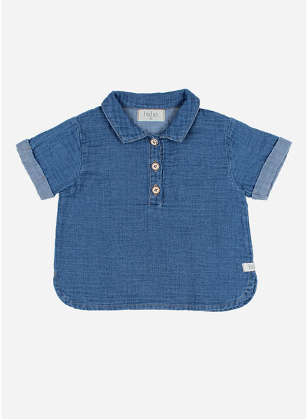 Buho sunny shirt - indigo