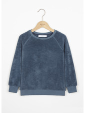 By Bar teddy sweater - oil blue