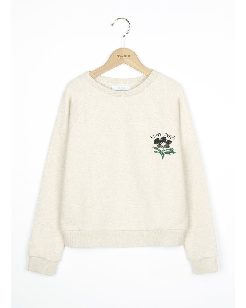 By Bar bonne sweater - oyster