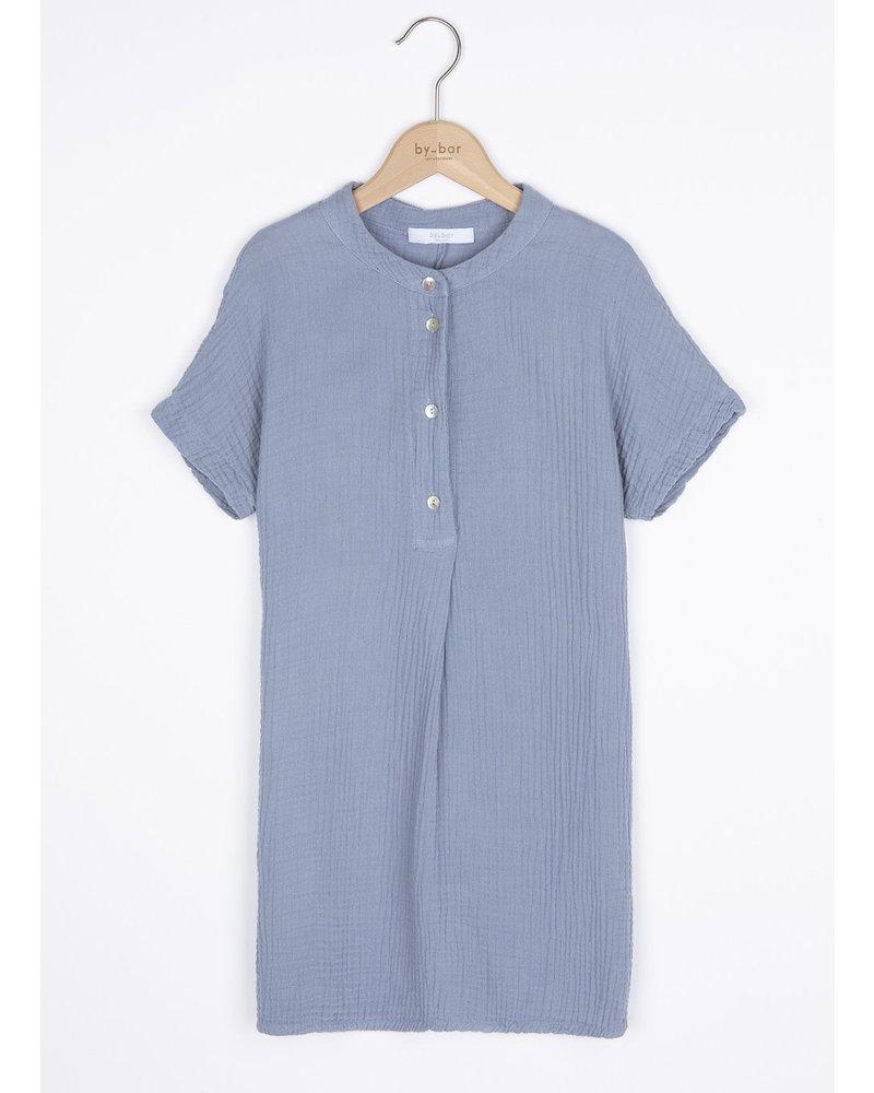 By Bar otty dress - foggy blue