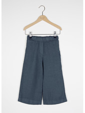 By Bar ines linen pant - oil blue
