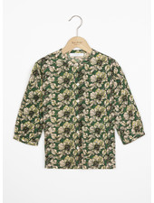 By Bar cecile tropico blouse - evergreen