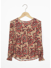 By Bar mila blouse lotus - nude