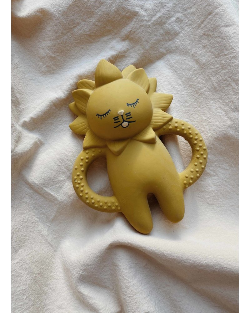 Konges Slojd teeth soother lion