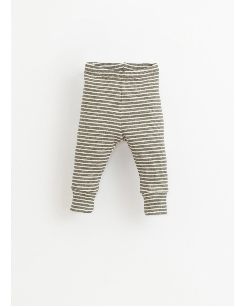 Play Up striped rib leggings -  grey - 1AI11651 - R257G