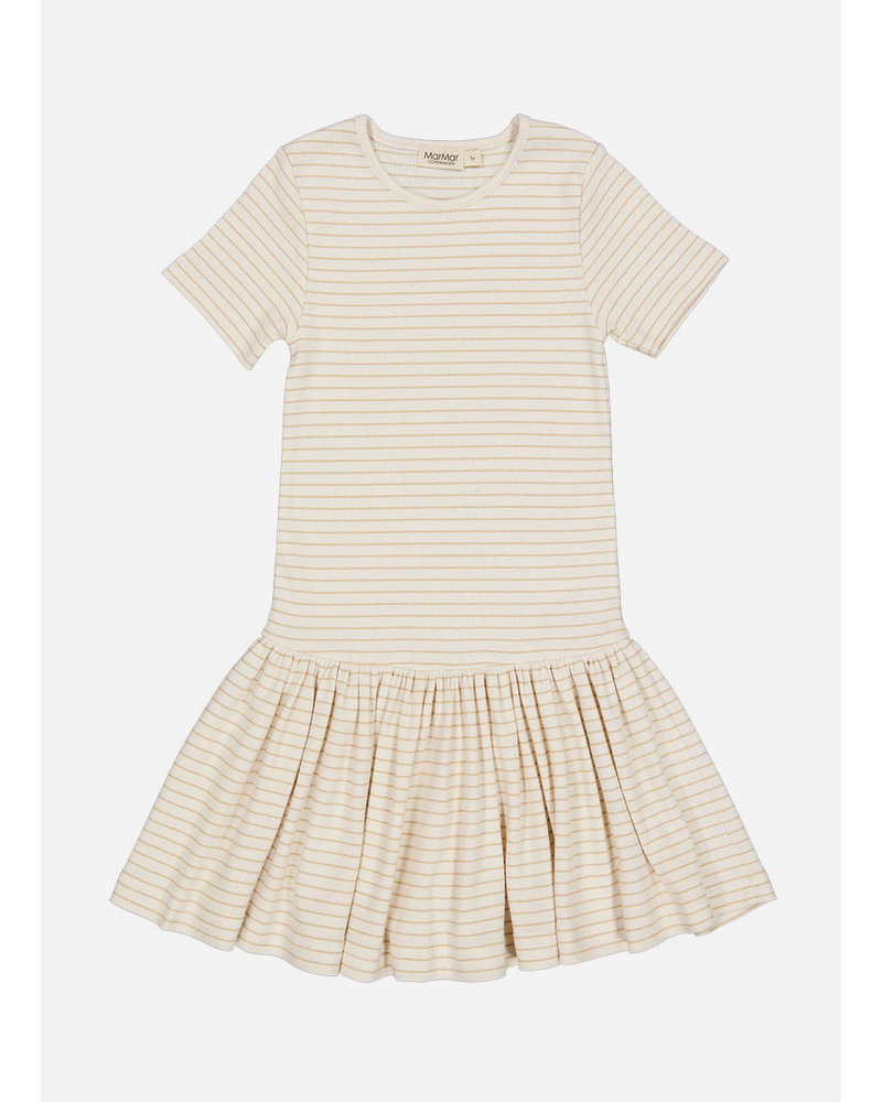 MarMar Copenhagen deanie dress - hay stripe