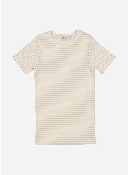 MarMar Copenhagen tago shirt - hay stripe