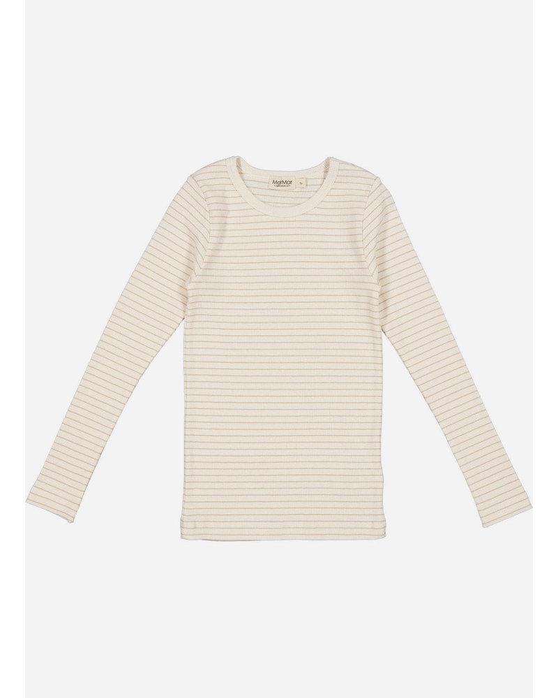 MarMar Copenhagen tani shirt - hay stripe