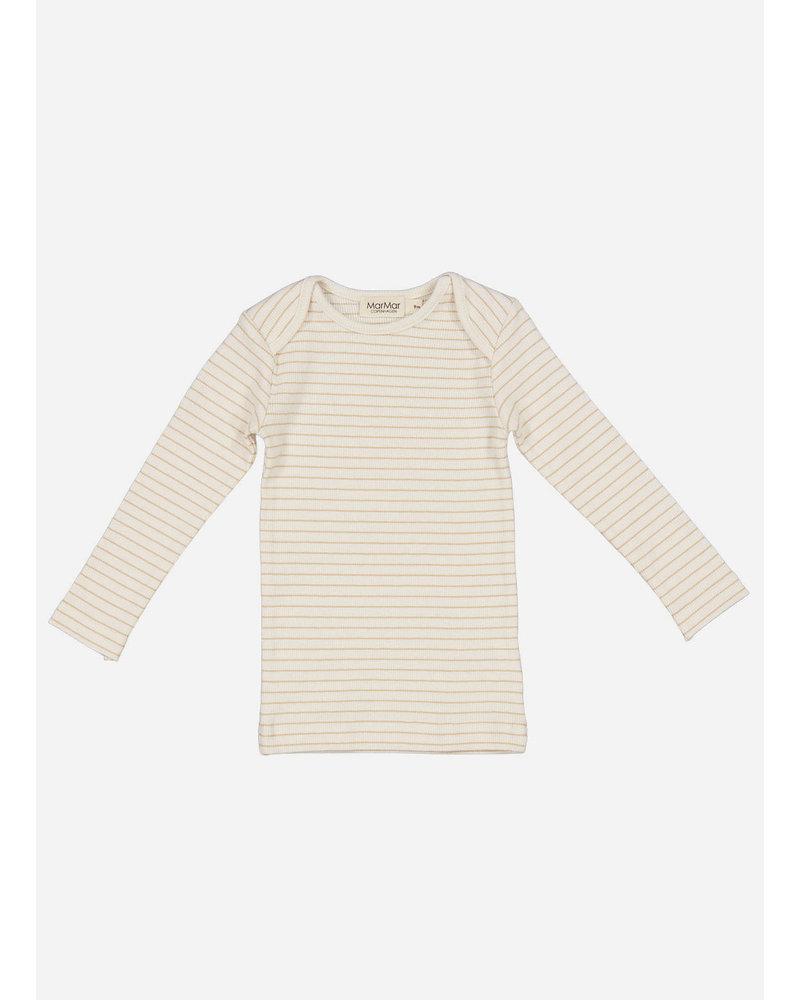 MarMar Copenhagen tor shirt - hay stripe