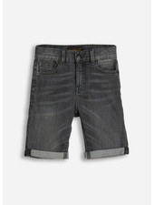 Finger in the nose edmond 5 pockets comfort fit shorts - grey denim