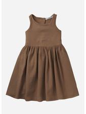 Mingo dress sleeveless - warm earth