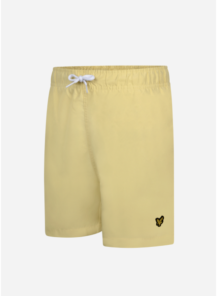 Lyle & Scott classic swim shorts vanilla cream