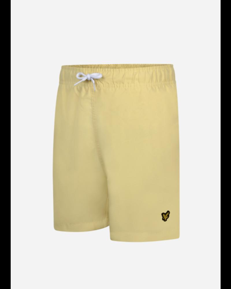 Lyle & Scott classic swim shorts vanilla cream
