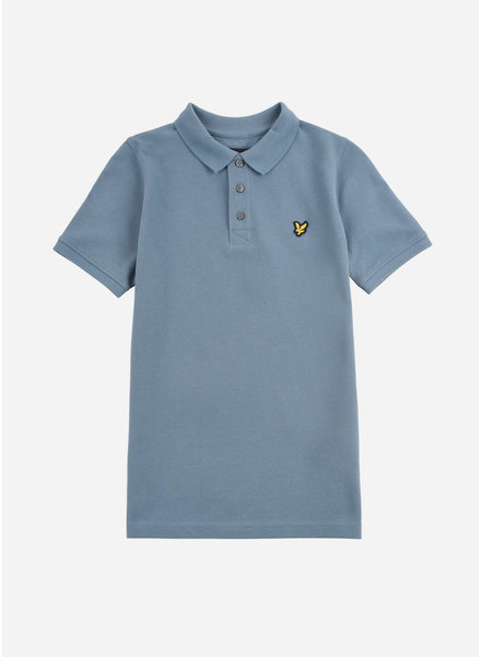 Lyle & Scott classic polo shirt blue stone