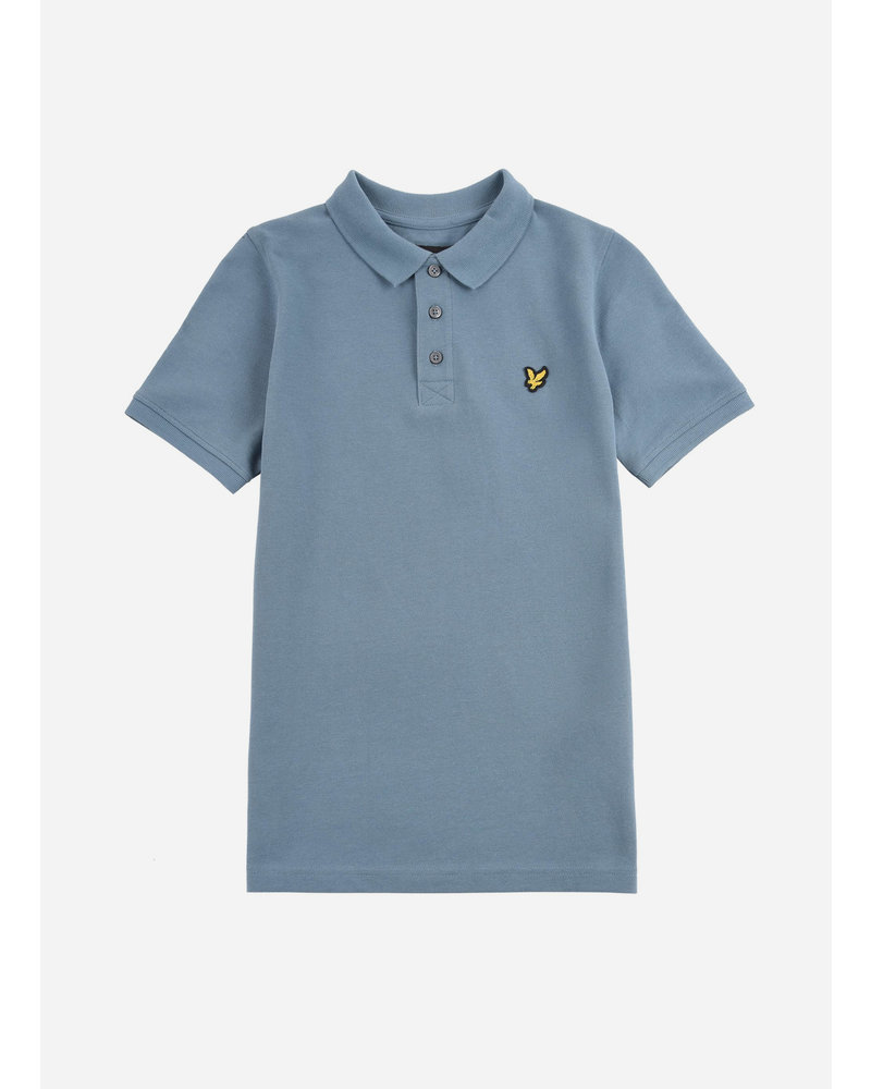 Lyle & Scott classic polo shirt blue stone