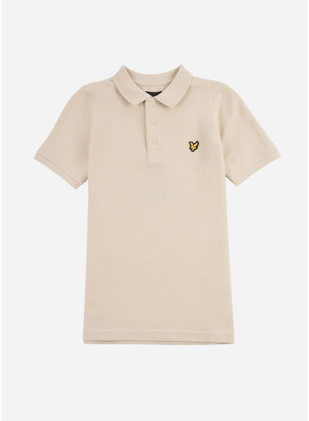 Lyle & Scott classic polo shirt oyster grey