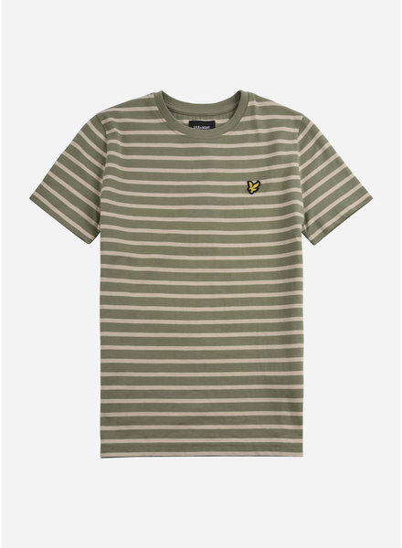Lyle & Scott breton t-shirt oil green
