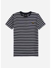 Lyle & Scott breton t-shirt navy blazer