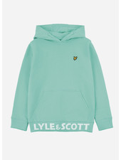Lyle & Scott bottom branded lb oth hoody neptune green