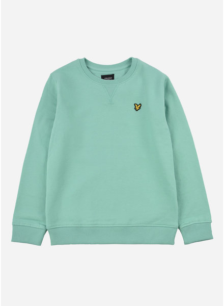 Lyle & Scott classic crew neck lb neptune green