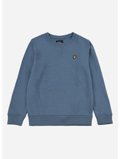 Lyle & Scott classic crew neck lb blue stone