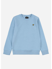 Lyle & Scott classic crew neck lb sky blue