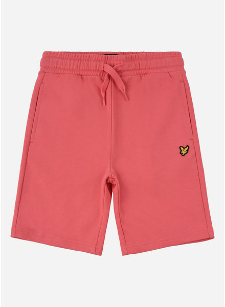 Lyle & Scott classic sweat short tea rose