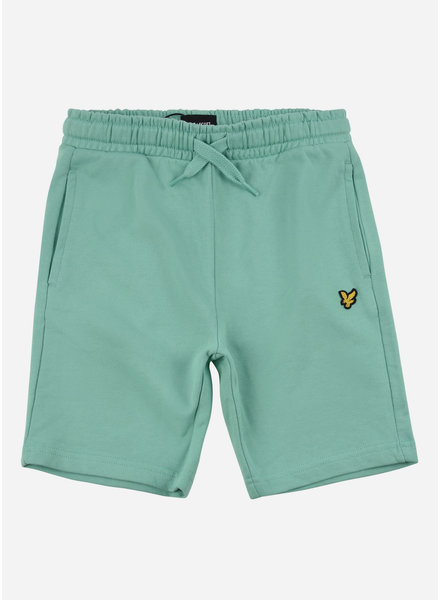 Lyle & Scott classic sweat short neptune green