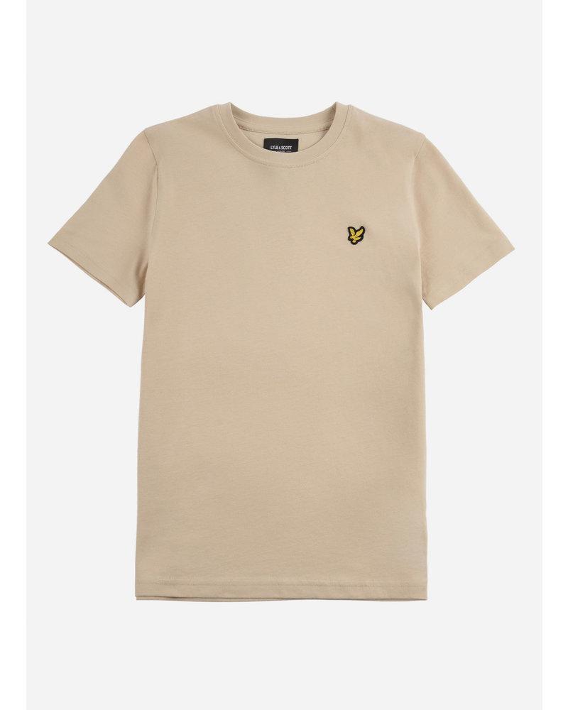 Lyle & Scott classic t-shirt oyster grey