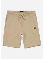 Lyle & Scott classic sweat short oyster grey