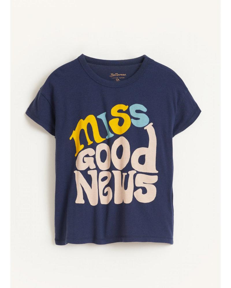 Bellerose ayoa tshirts - blue nights